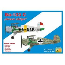 RSモデルズ 1/72 ビュッカー Bu-133 C グリーン ストライプ【92222】 プラモデル RS92222 Bu-133 C グリーンストライプ 【返品種別B】