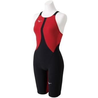MIZUNO SHOP [ミズノ公式オンラインショップ] 競泳用MX・SONIC02 ハーフスーツ[ジュニア] 51 ブラック×レッド N2MG8411