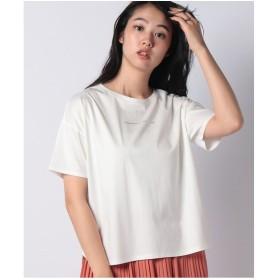 A/C DESIGN BY ALPHA CUBIC ゆるロゴTシャツ(オフホワイト)【返品不可商品】