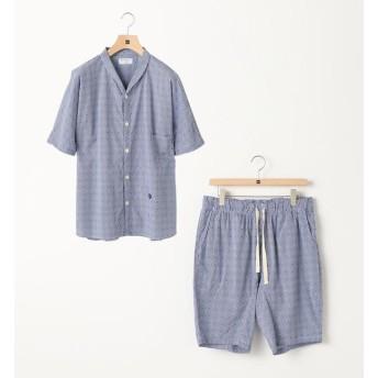 【シップス/SHIPS】 Villon'd:ギンガム×ドットサマーパジャマ