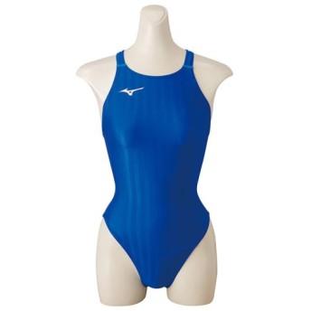 MIZUNO SHOP [ミズノ公式オンラインショップ] 競泳用ミディアムカット[ジュニア] 27 ブルー N2MA8422