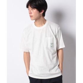【20%OFF】 ウィゴー WEGO/ワンポイント刺繍ポケットTシャツ メンズ ホワイト L 【WEGO】 【セール開催中】