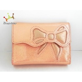 アンテプリマ ANTEPRIMA シガレットケース ピンク リボン ヌバック   スペシャル特価 20191022
