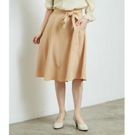 【ロペピクニック/ROPE' PICNIC】 リボン付きフレアスカート