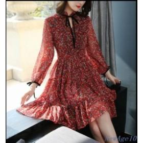 ワンピース レディース ワンピ OL 40代 きれいめ 大きいサイズ シンプル 服 ゆったり 女性 ファ