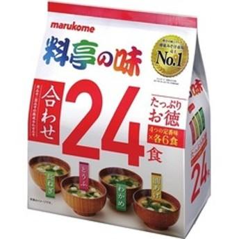 dポイントが貯まる・使える通販| 料亭の味 合わせ (24食) 【dショッピング】 スープ・味噌汁 おすすめ価格