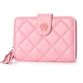 スタイルブロック STYLEBLOCK キルティング三つ折り財布 (ピンク)
