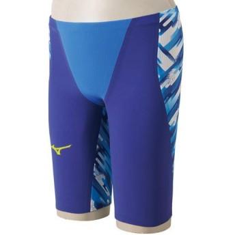 MIZUNO SHOP [ミズノ公式オンラインショップ] 競泳用GX・SONICIII ST ハーフスパッツ[ジュニア] 27 ブルー N2MB6001_j