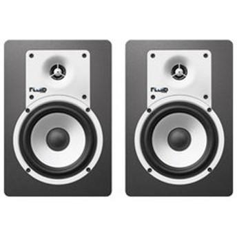 フルイドオーディオ Bluetooth対応ブックシェルフ型モニタースピーカー(ブラック)【ペア】 FLUID AUDIO CLASSIC SERIES C5BT 【返品種別A】