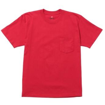【アダム エ ロペ ル マガザン/Adam et Rope Le Magasin】 【Hanes】ビーフィーポケットTシャツ BEEFY-T
