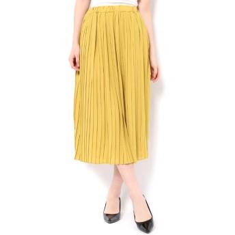 【テチチ/Te chichi】 ジョーゼットプリーツスカート