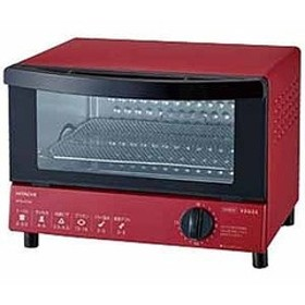 日立 オーブントースター [1000W/食パン2枚] HTO-CT30-R (レッド)