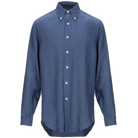 《期間限定セール開催中!》BROOKS BROTHERS メンズ シャツ ブルーグレー S 麻 100%