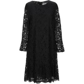 《セール開催中》TWENTY EASY by KAOS レディース ミニワンピース&ドレス ブラック 40 コットン 70% / ナイロン 30%