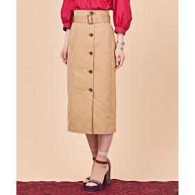 【クミキョク/組曲】 【ウエストベルト付】タスランアーミーツイル スカート