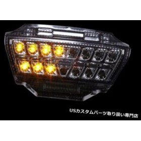 USテールライト 11 12 13 14 15 LED一体型テールライトKAWASAKI Nnija ZX-10R SMOKE 10R ++  For 11 12 13 14 15 LED Integrated Taillig
