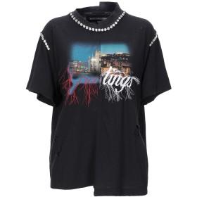 《期間限定 セール開催中》MARCO BOLOGNA レディース T シャツ ブラック M コットン 100%