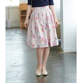 【ロペピクニック/ROPE' PICNIC】 【一部店舗限定】フラワースカート