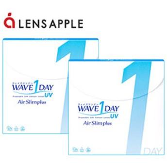 【全品ポイント10倍 9/20(23:59)】WAVEワンデー UV エアスリム plus 2箱セット