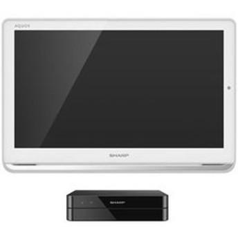 シャープ 16V型ポータブル地上・BS・110度CSデジタルフルハイビジョン液晶テレビ(ホワイト) (500GB HDD内蔵録画対応)AQUOSポータブル 2T-C16AP-W 【返品種別A】
