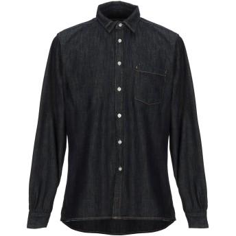 《期間限定 セール開催中》AMERICAN VINTAGE メンズ デニムシャツ ブルー S コットン 100%