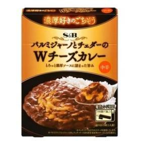 【6個入り】S&B 濃厚好きのごちそうWチーズカレー 150g
