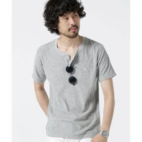 【ナノ・ユニバース/nano・universe】 1piu1別注パイルヘンリーTシャツ