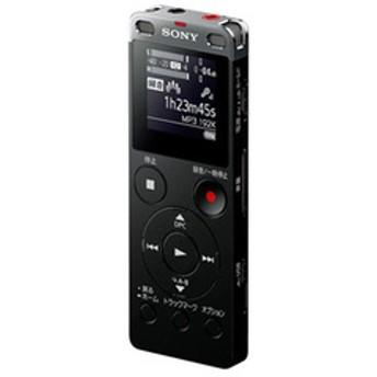 ソニー リニアPCM対応ICレコーダー8GBメモリ内蔵+外部マイクロSDスロット搭載(ブラック) SONY ICD-UX565FBC 【返品種別A】