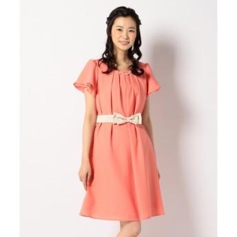 【エニィスィス/any SiS】 【2WAY・洗える】フレアジョーゼット ドレス