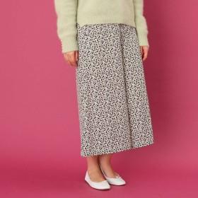 クチュール ブローチ Couture brooch 【WEB限定サイズ(LL)あり/手洗い可】プチフラワーデシンワイドパンツ (オフホワイト)