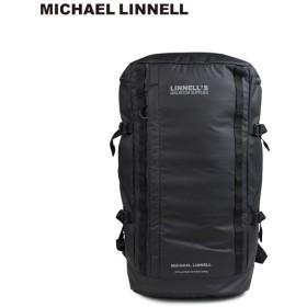 マイケルリンネル MICHAEL LINNELL リュック バッグ メンズ レディース バックパック BACKPACK ブラック 黒 MLAC-03