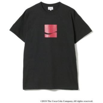 (BEAMS MEN/ビームス メン)Coca-Cola/Have a Good Day T-shirt/メンズ BLACK