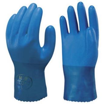 ショーワグローブ No650耐油ビニロ-ブ Mサイズ 塩化ビニール手袋 (裏布付) NO650M 【返品種別A】