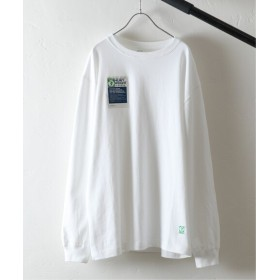 JOURNAL STANDARD relume DISCUS for relume / 別注ディスカス ヘビージャージー ロングTシャツ ホワイト XL