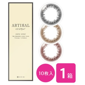アーティラル UV & MOIST 1箱 (1箱10枚入り / ワンデー)