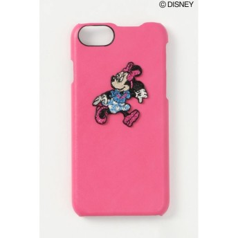【ヴァンスシェアスタイル/VENCE share style】 【WEB限定】Disney ディズニーラメ刺繍iphoneケース