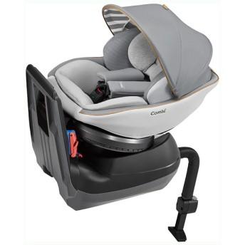 [シートベルト取付]コンビ クルムーヴスマート エッグショック JL540 グレー チャイルドシート ベビーカー・カーシート・だっこひも カーシート・カー用品 チャイルドシート(新生児~) (