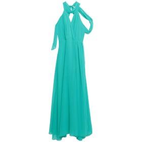 《セール開催中》ACCESS レディース ロングワンピース&ドレス グリーン L ポリエステル 100%