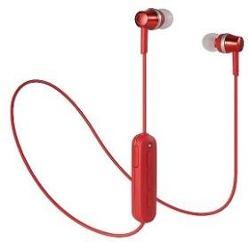 オーディオテクニカ Bluetoothイヤホン ATH-CKR300BT RD レッド