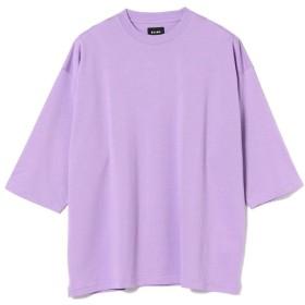 【50%OFF】 ビームス メン BEAMS / シルケット 8分袖 Tシャツ メンズ LAVENDER M 【BEAMS MEN】 【タイムセール開催中】