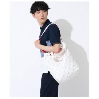 【ザ ショップ ティーケー/THE SHOP TK】 メガネ柄キャンバス2WAYトート/サコッシュ