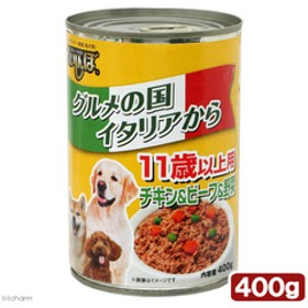 くいしんぼ 缶 チキン・ビーフ&野菜 11歳以上用 400g 関東当日便