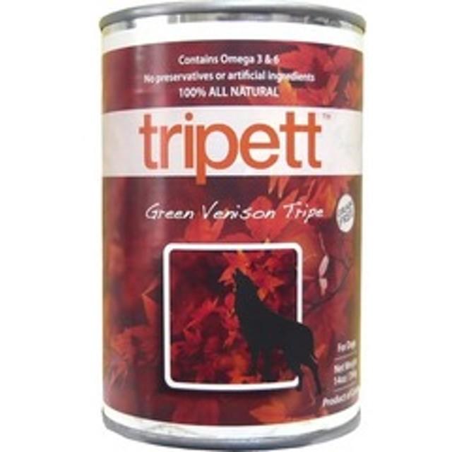 dポイントが貯まる・使える通販| ペットカインド トライペット 缶詰 グリーンベニソントライプ(鹿) (396g) 【dショッピング】 サプリメント・おやつ おすすめ価格