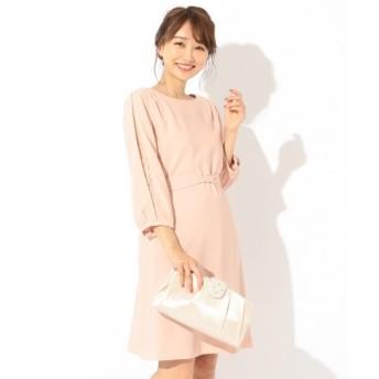 【エニィスィス/any SiS】 【洗える】レーススリーブサックワンピース ドレス