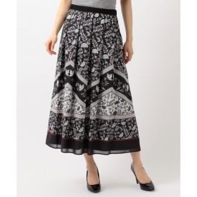【ジユウク/自由区】 【Class Lounge】SARASAプリントスカート