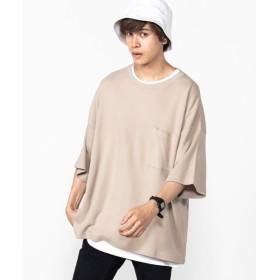 [マルイ]【セール】サーマルビッグTシャツ/ウィゴー(メンズ)(WEGO)