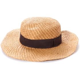 ドレスキップ DRESKIP 編み込み帽子 (ベージュ)