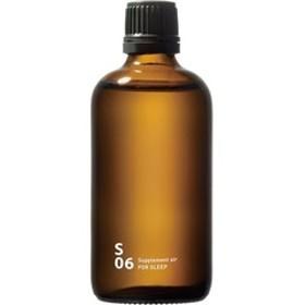 piezo aroma oil(スクエアー専用) Supplement air(サプリメントエアー) スリープ (100mL)