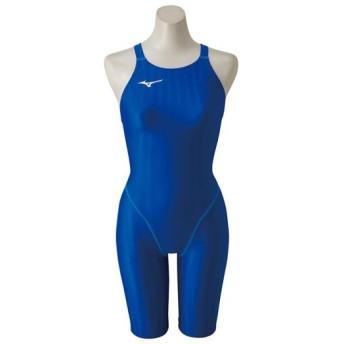 MIZUNO SHOP [ミズノ公式オンラインショップ] 競泳用ハーフスーツ[レディース] 27 ブルー N2MG8221