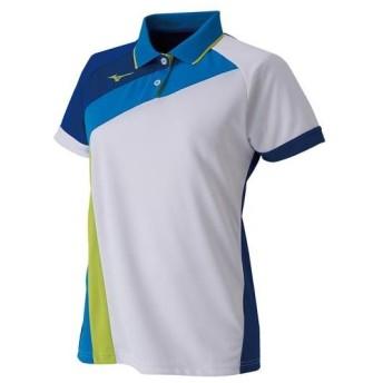 ミズノ ゲームシャツ(ラケットスポーツ)[レディース] ホワイト Mizuno 62JA9215 71